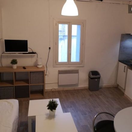 Rent this 1 bed apartment on 26 Rue Dom Vaissette in 34062 Montpellier, France