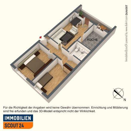 Rent this 3 bed apartment on Am Sommerbad 12 in 06132 Halle (Saale), Germany