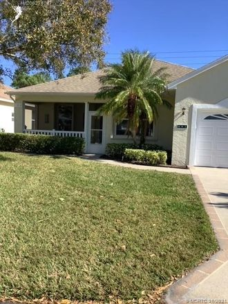 Rent this 3 bed house on 541 Portofino Lane in Port St. Lucie, FL 34986