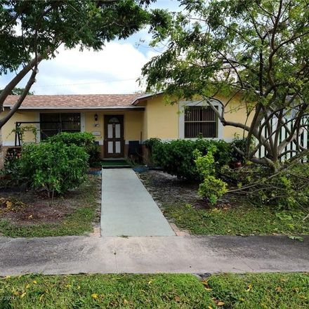 Rent this 4 bed house on 2340 Northwest 60th Avenue in Sunrise, FL 33313