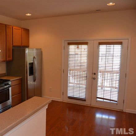 Rent this 3 bed townhouse on 145 Dove Cottage Lane in Cary, NC 27519