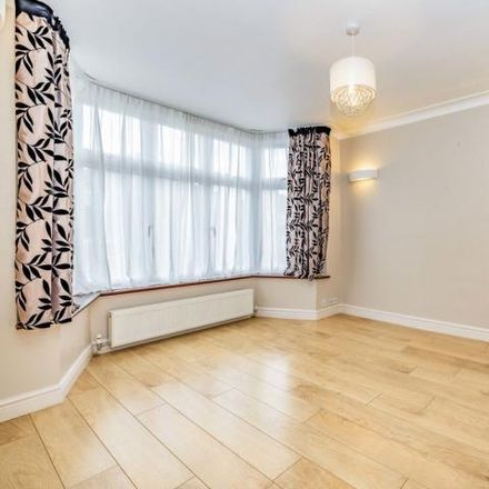 Rent this 3 bed house on Pickett Croft in London, HA7 1HY