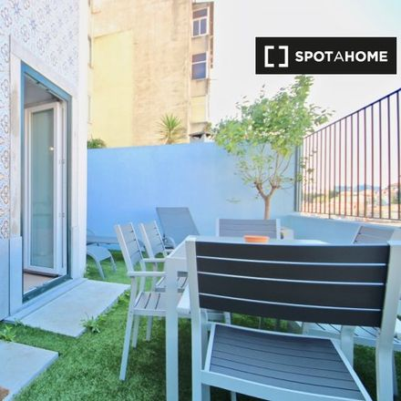 Rent this 2 bed apartment on Rua da Bombarda in 1100-085 Lisbon, Portugal