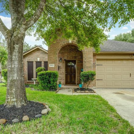 Rent this 4 bed house on 19903 Black Cherry Bend Court in Villages of Cypress Lakes, TX 77433