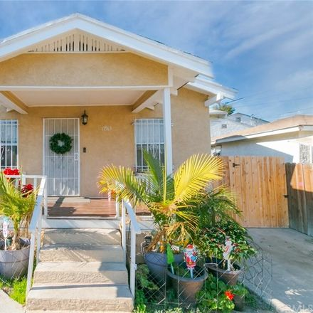 Rent this 3 bed house on 11563 Link Street in Los Angeles, CA 90061
