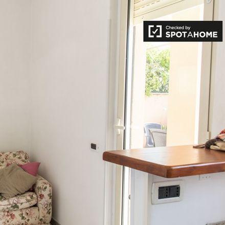 Rent this 1 bed apartment on Quartiere XII Gianicolense in Via Antonio Cerasi, 00152 Rome RM