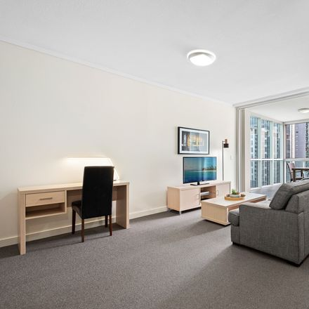 Rent this 1 bed apartment on 1711/108 Albert Street