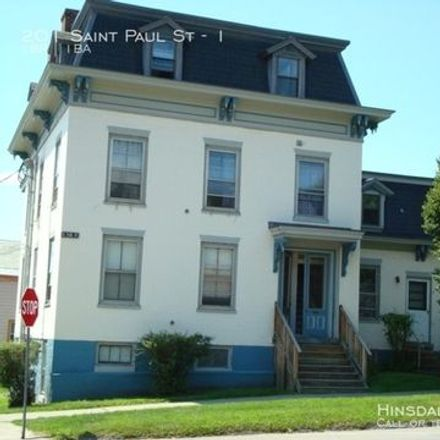 Rent this 1 bed apartment on 201 Saint Paul Street in Burlington, VT VT 05401