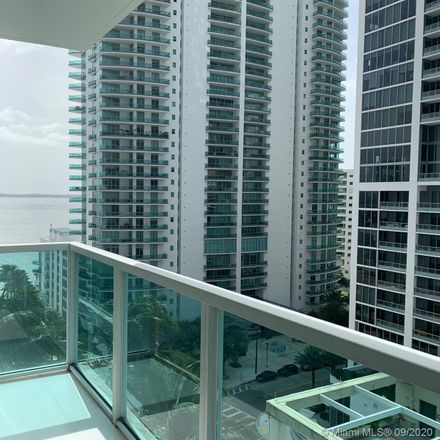 Rent this 2 bed condo on 186 Southeast 12th Terrace in Miami, FL 33131