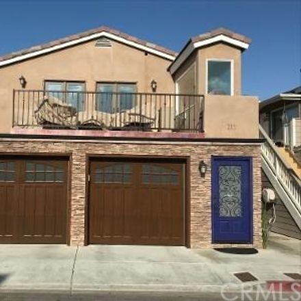 Rent this 3 bed condo on 215 Grant Street in Newport Beach, CA 92663