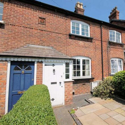 Rent this 2 bed house on Middle Walk in Knutsford WA16 8EW, United Kingdom
