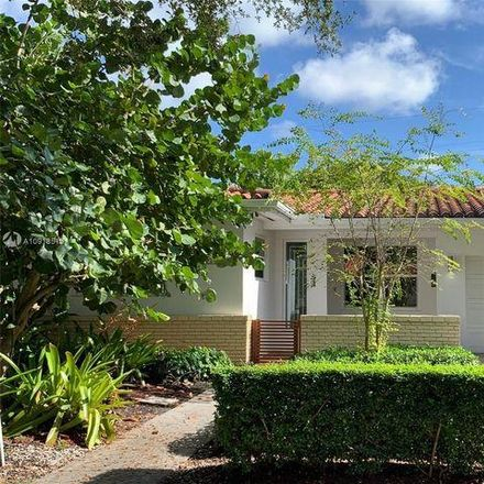 Rent this 3 bed house on 238 Velarde Avenue in Coral Gables, FL 33134