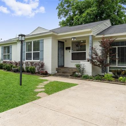Rent this 3 bed house on 3948 Valley Ridge Road in Dallas, TX 75220