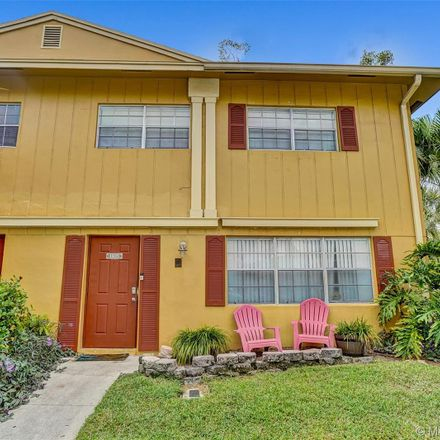 Rent this 3 bed townhouse on 1805 Southwest 81st Avenue in Davie, FL 33324