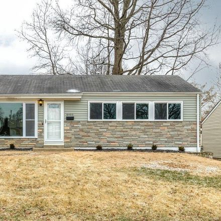 Rent this 3 bed house on 6400 Ashbury Drive in Saint Louis County, MO 63123