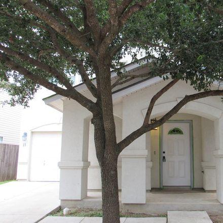 Rent this 3 bed apartment on 11 Moonwalk Crest in San Antonio, TX 78254