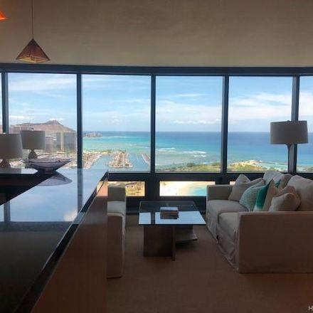 Rent this 2 bed condo on Nauru Tower in 1330 Ala Moana Boulevard, Honolulu