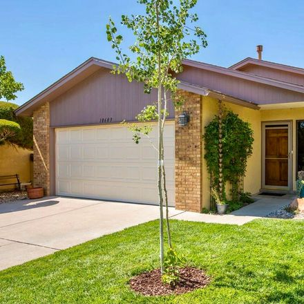 Rent this 3 bed house on 10609 Pennyback Park Drive Northeast in Albuquerque, NM 87123