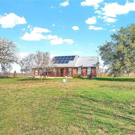 Rent this 3 bed house on Co Rd 433 in Stockdale, TX
