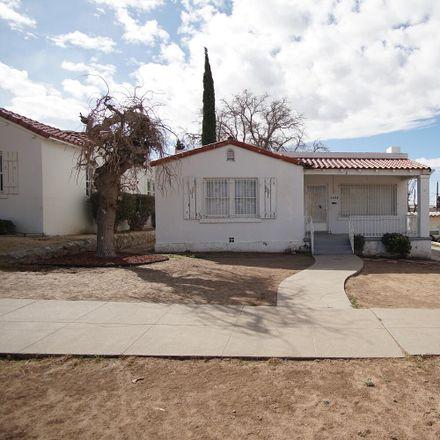 Rent this 3 bed apartment on 4424 Cambridge Avenue in El Paso, TX 79903