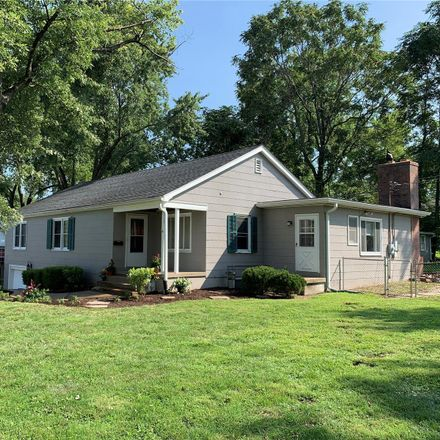 Rent this 4 bed house on 1117 Tompkins Street in Saint Charles, MO 63301