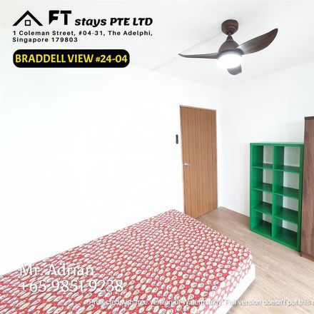 Rent this 1 bed room on Braddell Hill in Singapore 318871, Singapore