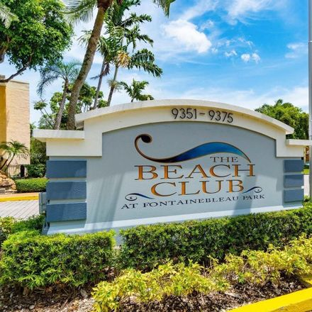 Rent this 1 bed condo on 9363 Fontainebleau Boulevard in Fountainbleau, FL 33172