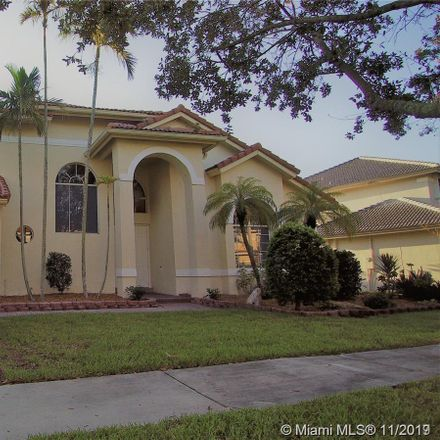 Rent this 5 bed house on 1581 Northwest 182nd Terrace in Pembroke Pines, FL 33029