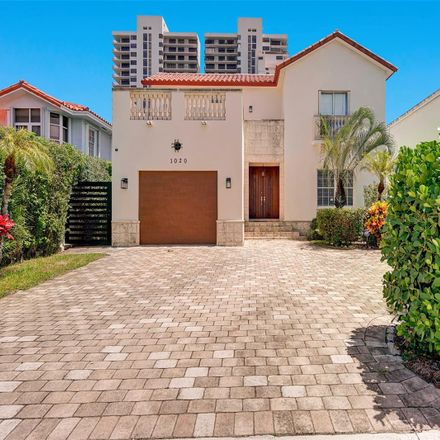 Rent this 4 bed house on 1020 North Venetian Drive in Miami, FL 33139