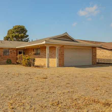 Rent this 3 bed house on 8801 Holiday Drive in Odessa, TX 79765