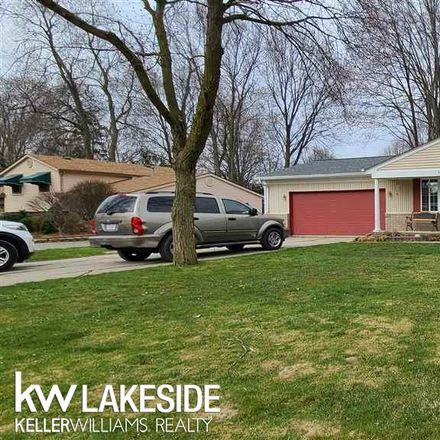 Rent this 3 bed house on 38351 Hazel Street in Harrison Township, MI 48045