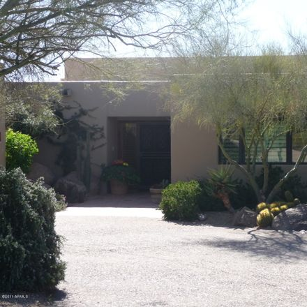 Rent this 2 bed house on East Arroyo Seco Road in Scottsdale, AZ 85377
