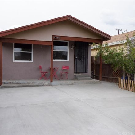 Rent this 3 bed house on 13213 Pinney Street in Los Angeles, CA 91331