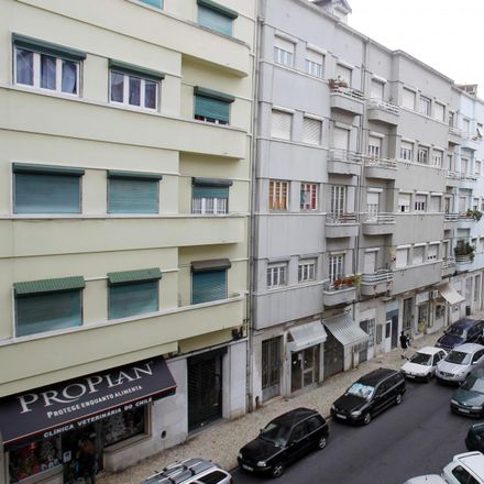 Rent this 5 bed room on Kasthamandap in Rua Cavaleiro de Oliveira 26-A/B, 1170-088 Lisbon