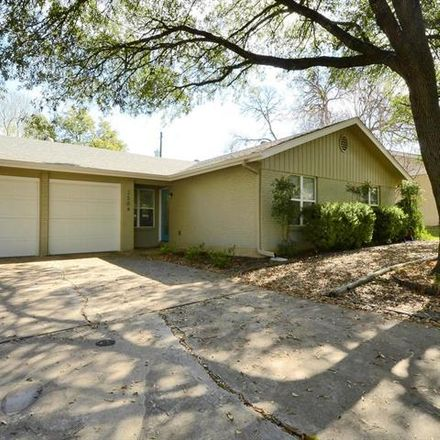 Rent this 3 bed house on 2504 Spring Creek Drive in Austin, TX 78704