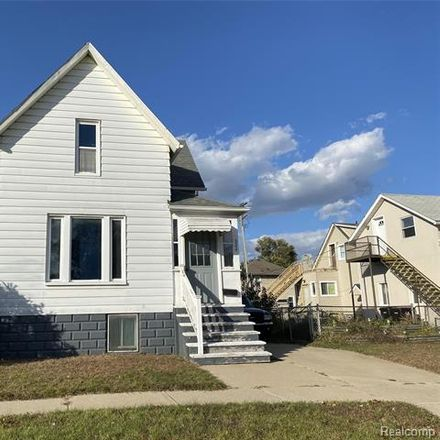 Rent this 2 bed house on 324 Cherry Street in Wyandotte, MI 48192