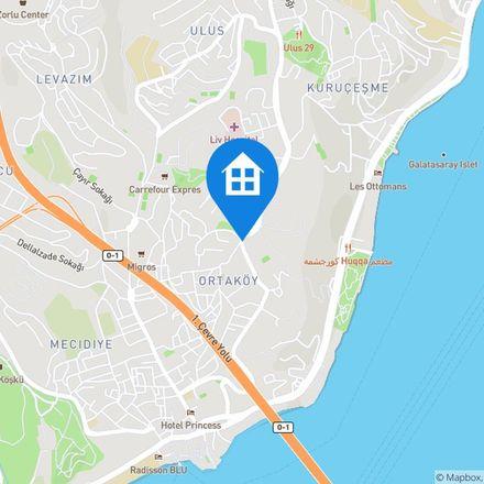Rent this 1 bed apartment on Portakal Yokuşu in 34345 Beşiktaş, Turkey