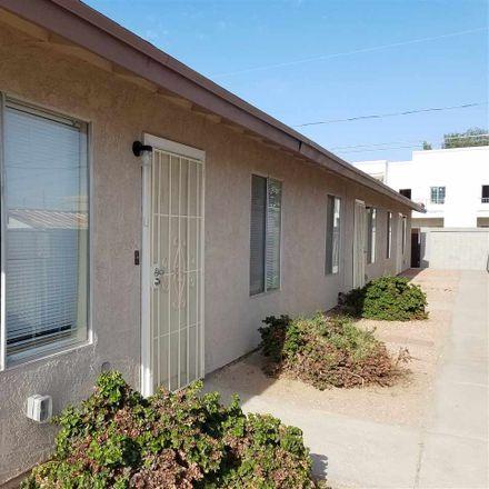 Rent this 2 bed duplex on 2183 South Walnut Avenue in Yuma, AZ 85364