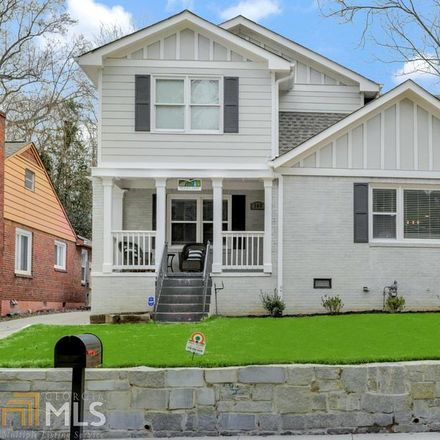 Rent this 3 bed house on Burbank Dr SW in Atlanta, GA