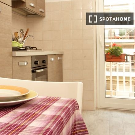 Rent this 1 bed apartment on Via S. Silverio in 00165 Rome RM, Italy