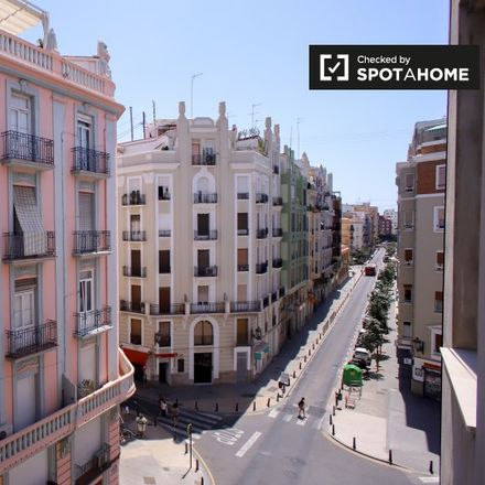 Rent this 1 bed apartment on Carrer del Músic Padilla in 46005 Valencia, Spain