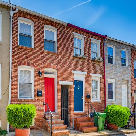 Rent this 2 bed townhouse on 209 South Madeira Street in Baltimore, MD 21231