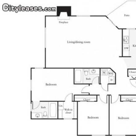 Rent this 3 bed apartment on Redmond Town Center in 7525 166th Avenue Northeast, Redmond