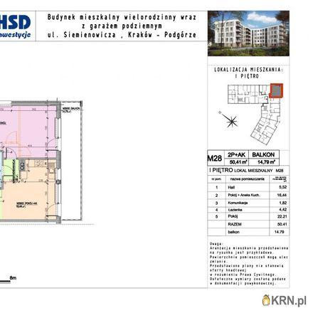 Rent this 3 bed apartment on Kazimierza Siemienowicza 2 in 30-725 Krakow, Poland