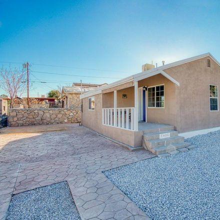 Rent this 2 bed apartment on 2406 Lebanon Avenue in El Paso, TX 79930