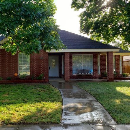 Rent this 4 bed house on 4715 Bishops Castle Drive in Midland, TX 79705