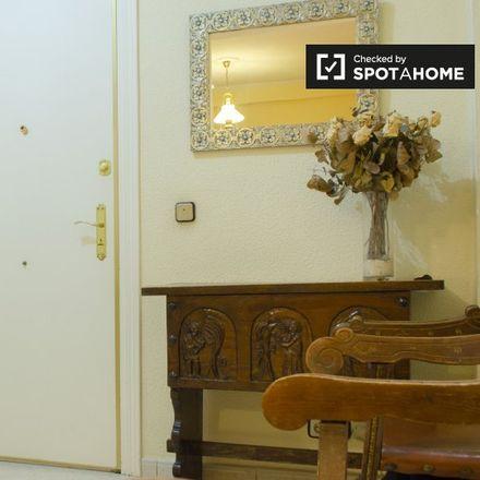 Rent this 4 bed apartment on Hospital General Universitario Gregorio Marañón. in Calle de Antonio Arias, 28001 Madrid