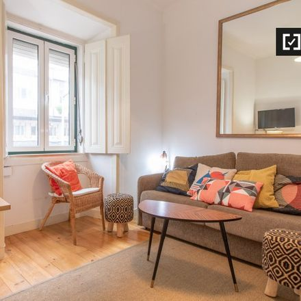 Rent this 1 bed apartment on Rua do Borja in 1400-423 Lisbon, Portugal