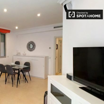 Rent this 1 bed apartment on Calle Zinc in 28001 Madrid, Spain
