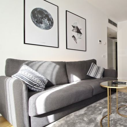 Rent this 1 bed apartment on Calle Catalina Suárez in 8, 28007 Madrid